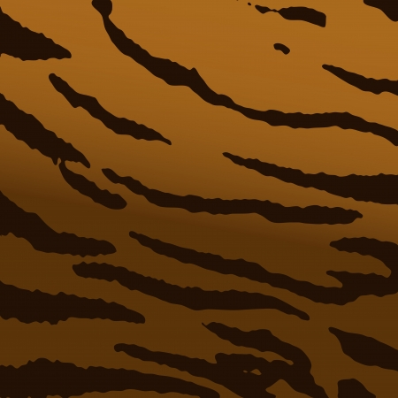 Wild tiger skin texture Illustration