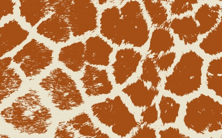 Colorful Animal skin textures of giraffe  wild pattern Vector