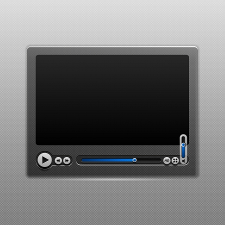 video player: Media Player User Interface