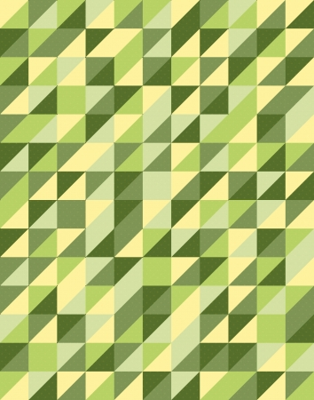 Retro Triangular Pattern Design