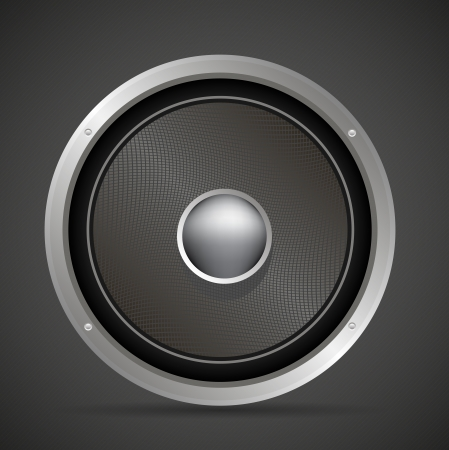 Sound loud Audio speaker vector illustration, eps 10 Illustration