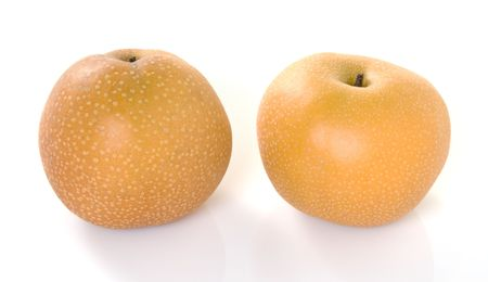 Two Orange Pears photo