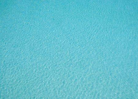 wavelet: Surface of swimming pool with breeze creating small wavelet pattern for background Stock Photo