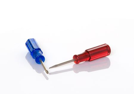 Small, colorful screwdrivers