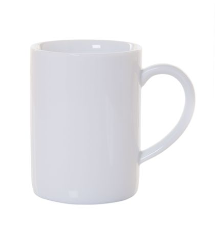 White coffee mug with no shadow or reflection photo