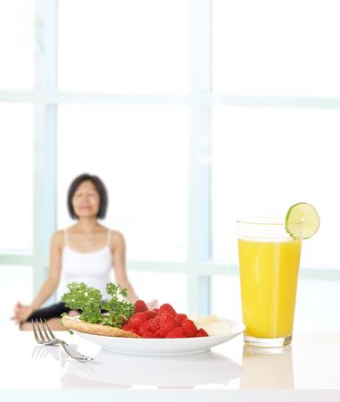 Healthy eating and physical conditioning for women