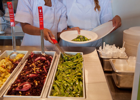 食品トレーや労働者には手料理です。