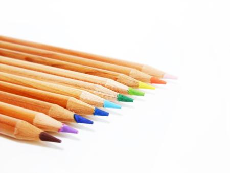 Colored pencils Фото со стока
