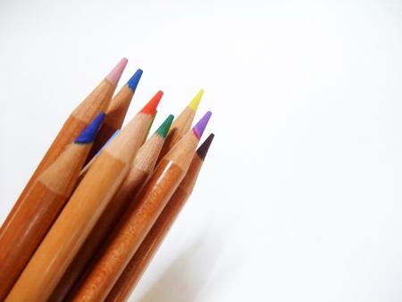 Colored pencils Stock fotó