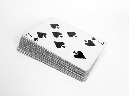 Playing cards Reklamní fotografie