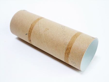 Core of toilet paper 版權商用圖片