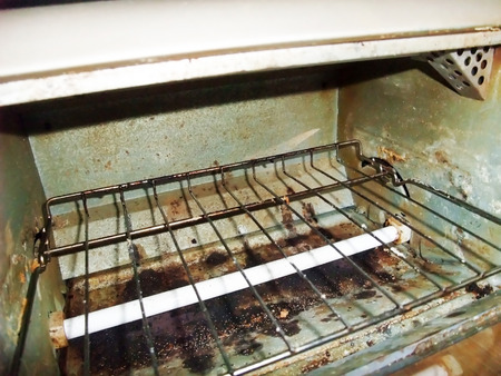 This is a toaster oven. Banque d'images