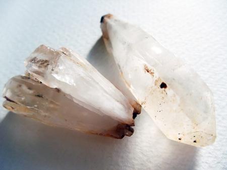 Crystal rude ore