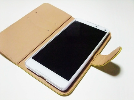 Cover of smart phone