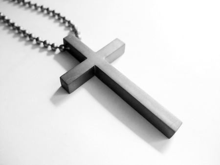 Necklace of a cross 写真素材 - 115584437