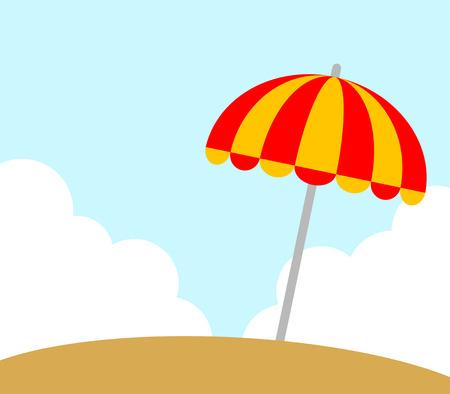 This is a parasol. Foto de archivo - 119822326