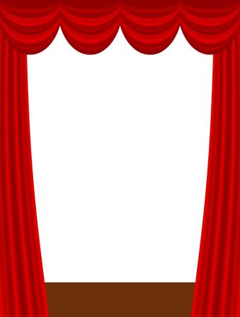 This is a curtain Stok Fotoğraf
