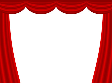 This is a curtain 写真素材