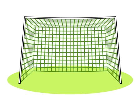Soccer goal Stock fotó