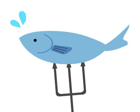 Caught fish 写真素材