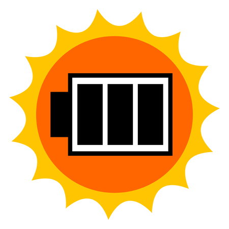 Image of a solar cell Stock fotó