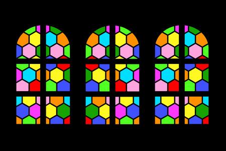 Stained glass Фото со стока - 119826860