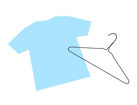 Hanger and a T-shirt