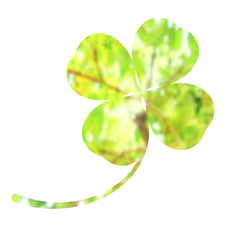 Clover with the design of the tree