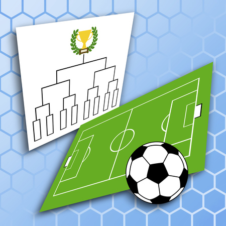 Tournament of soccer 写真素材 - 119829495