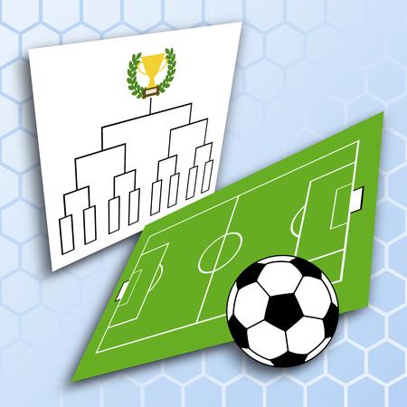 Tournament of soccer 写真素材 - 119829522