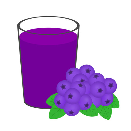 Blueberry juice