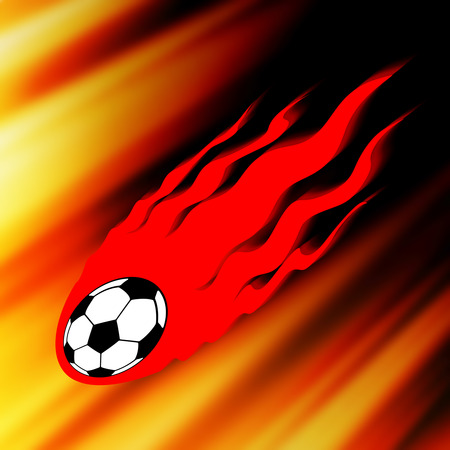 Powerful soccer chute.