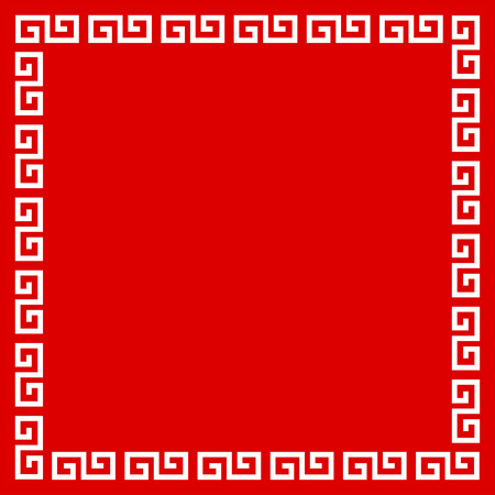 Chinese frame with the design