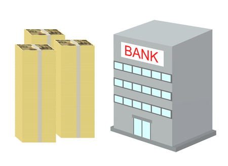 An image of the Japanese bank.