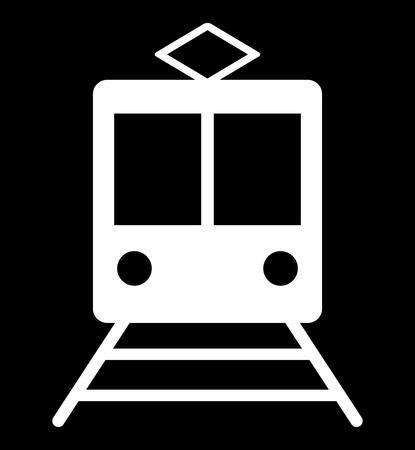 Mark on the train