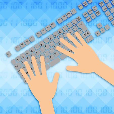 Operation of a keyboard