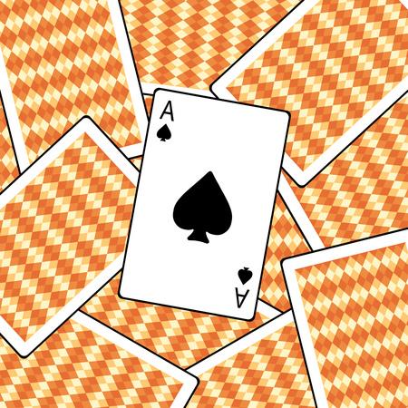 Ace of a spade