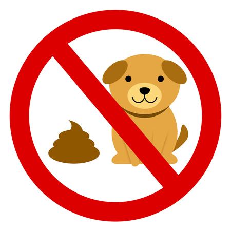 Feces of a pet shouldn't be left.
