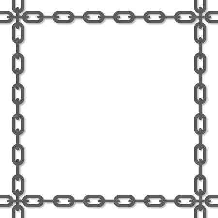 Frame of the chain Reklamní fotografie