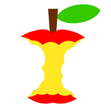 Core of apple