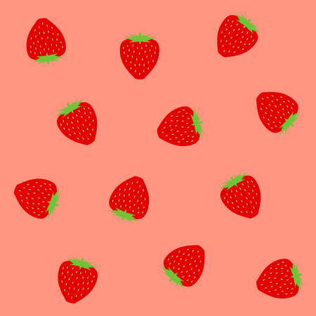 Background of strawberry 写真素材