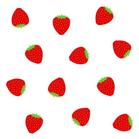 Background of strawberry 写真素材