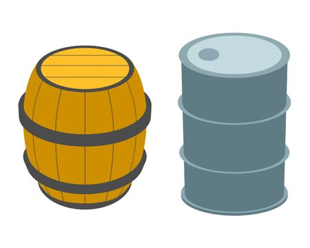 Barrel and a drum