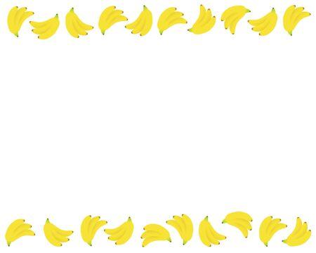 Frame of the banana
