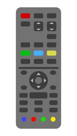 Remote control of a television