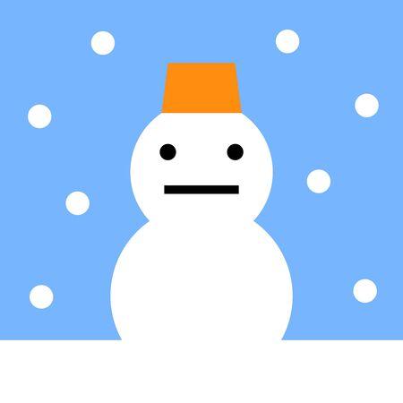 Snowman 写真素材
