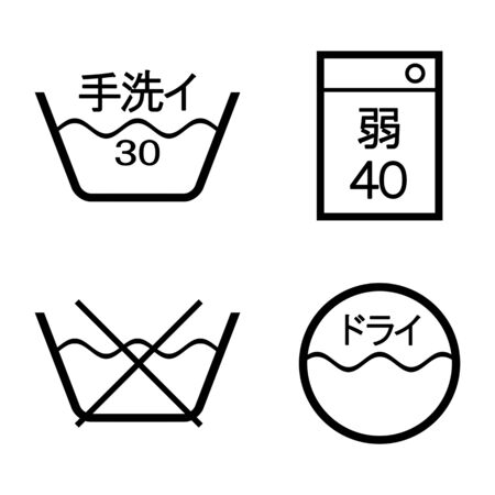 Mark of washing