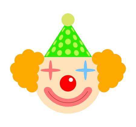This is the face of a clown. 스톡 콘텐츠