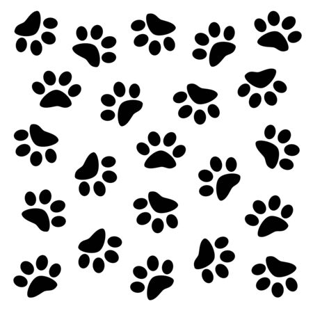 Background of a paw