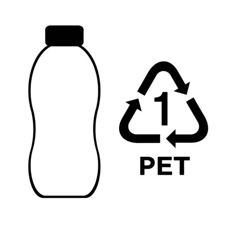 The image which recycles a plastic bottle.